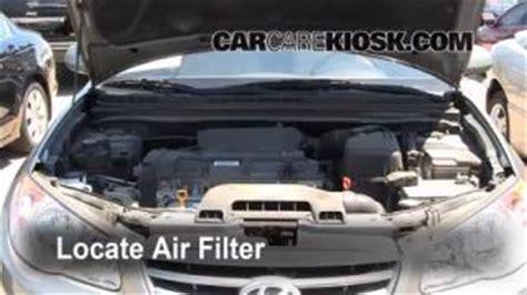 2009 Hyundai Accent Fuel Air Filter Engine Air Filter by Add Transmission Fluid 2007 2012 Hyundai Elantra 2010