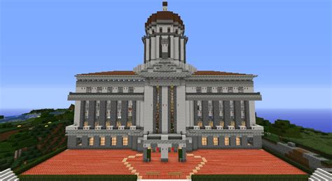Cool Home Design Blogs by Town Hall Minecraft Project