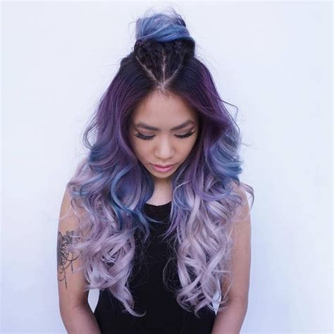 how to ombre hair to light picture of purple to light lavender ombre hair