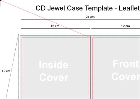 cd cover layout template word doc 585509 jewel case template jewel case template 11