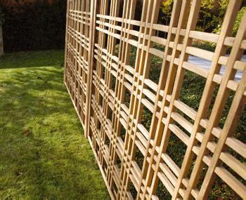 panneaux treillis bois treillis ippon bm cloture jardin