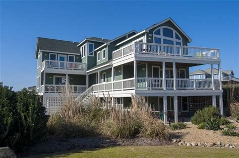 duck outer banks vacation rentals 176 best oceanfront vacation rentals images on