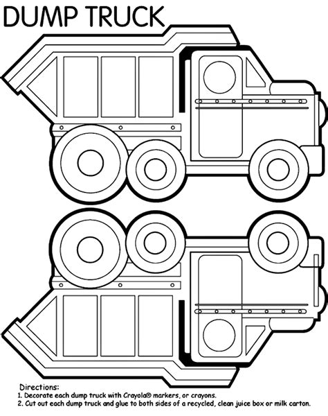 dump truck coloring page preschool tonka truck coloring pages coloring home