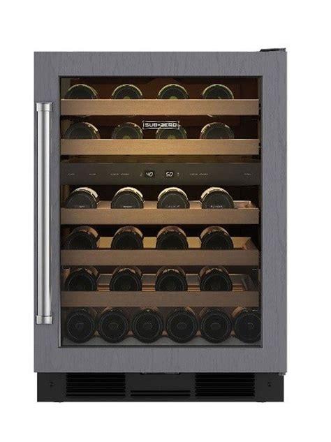 sub zero wine cooler sub zero 24 quot right hinge wine storage refrigerator uw24orh
