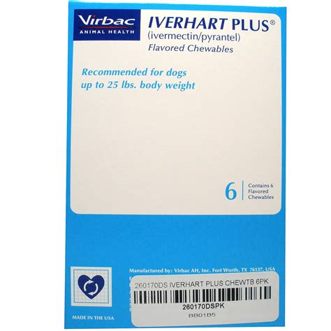 heartgard plus for dogs up to 25 lbs iverhart plus for dogs up to 25 lbs 6 mnth