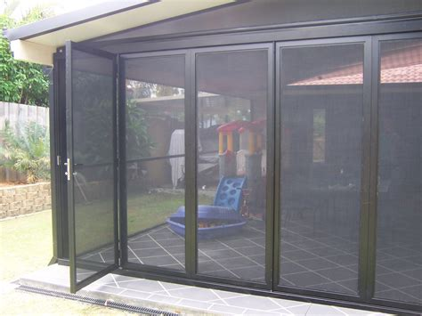 flyscreen bi fold doors   Shut out the INSECTS, with