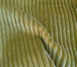 United Upholstery Fabrics Corduroy Fabric Key Lime Green Half Yard
