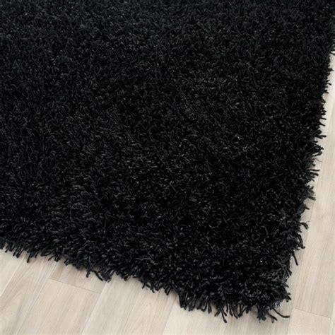 shag rug runners shag shag hallway runner 2 6 quot x4 runner black area rug modern stair runners by rugpal