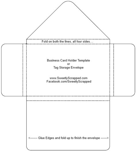 template for a card envelope 12 best photos of diy card envelope template 4 x 5