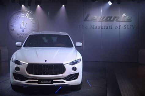 Maserati Rome Maserati Levante Premi 232 Re Nazionale Rome 2016 Bestmotori It