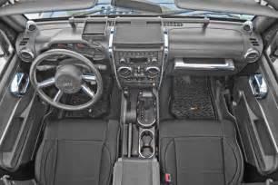 4 Door Jeep Wrangler Interior Rugged Ridge Interior Trim Accent Kit Chrome Jeep