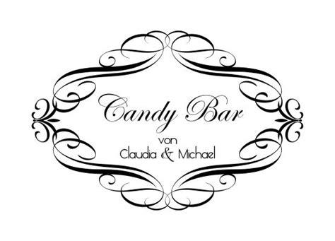 Tattoo Aufkleber Personalisiert by Wandtattoo Hochzeit Candy Bar Mit Namen