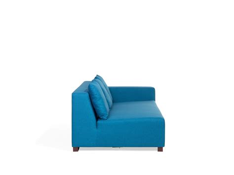 r r upholstery sofa blue corner r upholstery fabric lungo beliani pt
