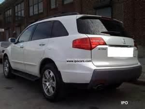 2007 acura mdx car photo and specs