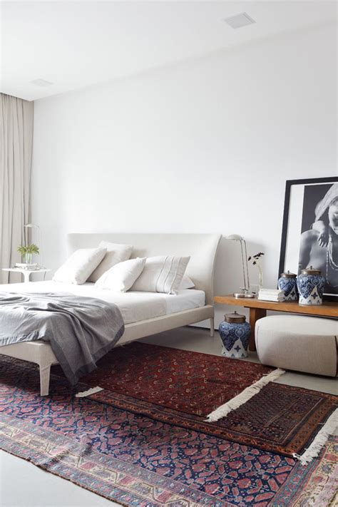 oriental rug bedroom styling tips layering rugs 4 ways erika brechtel