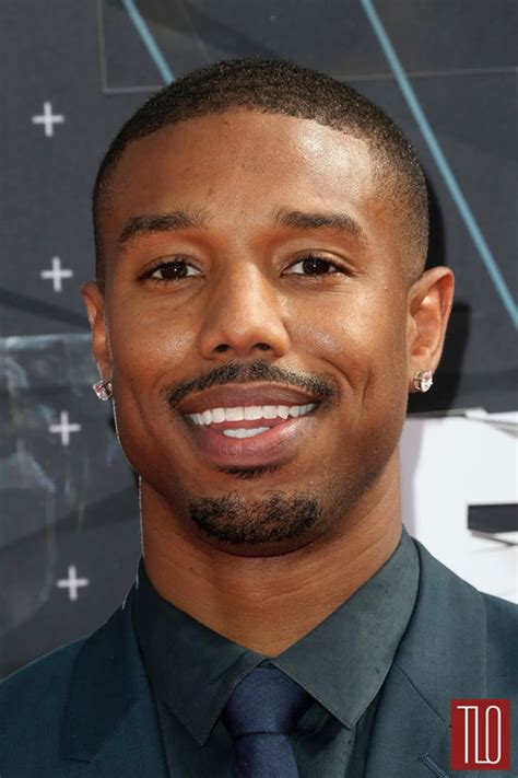Suit Colors by Michael B Jordan In Sandro At The 2015 Bet Awards Tom