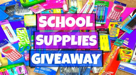 brevard schools foundation s back to school supplies giveaway registration opens - School Supply Giveaway 2017