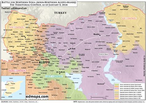 syria live map battle for northern syria world in war