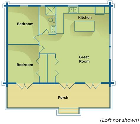 country cabins floor plans modern house