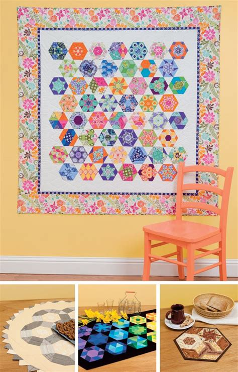 Hexagon Patchwork Projects - hexagon patchwork sekskanter a collection of other