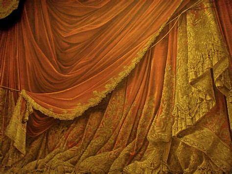 backdrop drapes backdrop vintage theater stage curtain sunset by eveyd