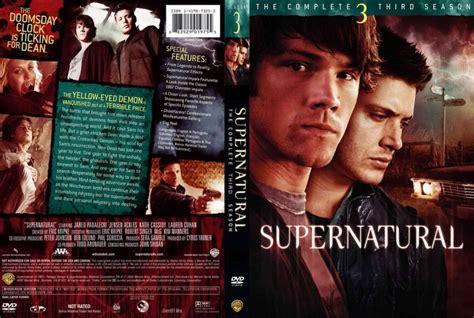 Dvd Supernatural Season 3 supernatural season 3 tv dvd scanned covers supernatural s3 dvd covers