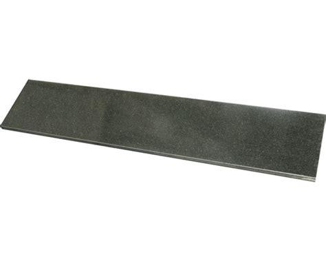 granitplatten fensterbank fensterbank gabbro granit schwarz 126x25x2 cm bei hornbach