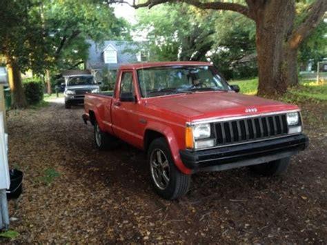 1986 jeep comanche black purchase used 1986 jeep comanche custom standard cab
