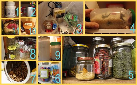 Glass Kitchen Canisters don t throw it away how to re use old food containers
