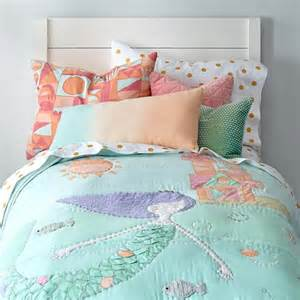 mermaid bedding the land of nod