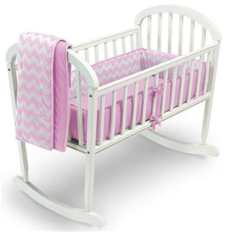 Baby Doll Beds Walmart by Baby Doll Bedding Chevron 3 Cradle Bedding Set
