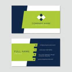 Templates For Business Cards Free Download Business Card Template Vector Free Download