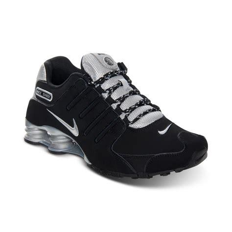 nike mens shox nz eu running sneakers from finish line in