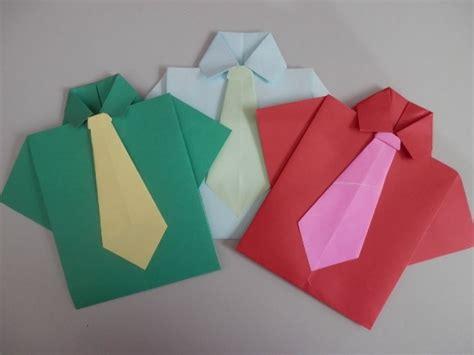 Origami O - origami para o dia dos pais mundodastribos todas as