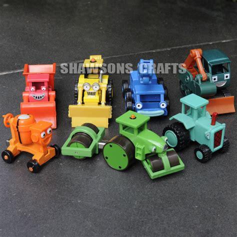 bob the builder toys ebay bob the builder diecast toys 7 vehicles lot scoop lofty