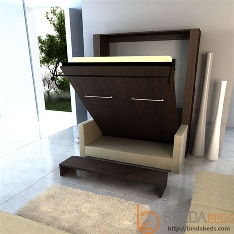 inline murphy bed and inline sofa contemporary beds