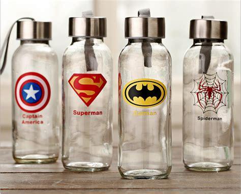 Transparent Glass 300ml idea outdoor sport travel bottle 300ml transparent glass