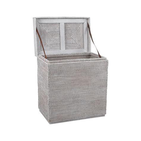 laundry basket in bathtub buy baolgi rectangular laundry basket white amara