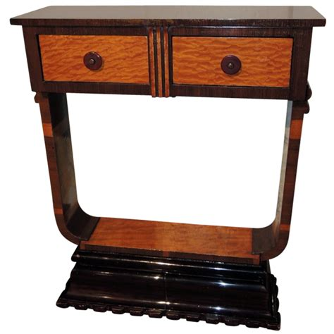 Deco Console Table by Small Deco Console Tables