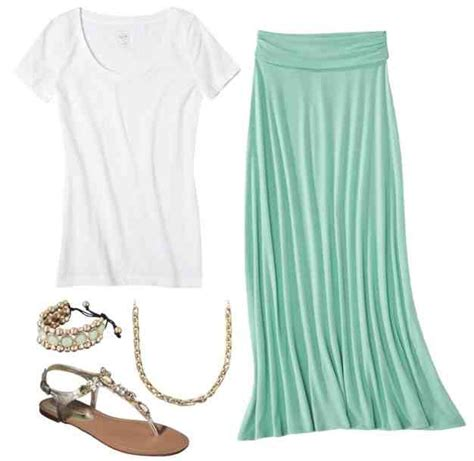 mint green maxi skirt 24 99 at target