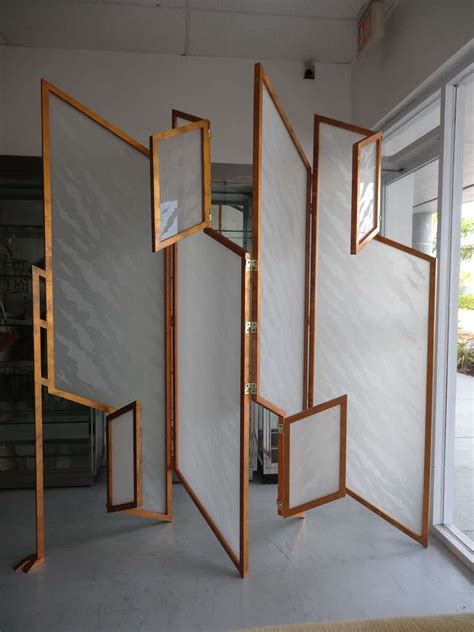 Unique Room Divider Unique Kinetic Room Divider Sculptural Screen At 1stdibs