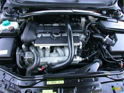 2004 volvo s60 2 5t 2 5 liter turbocharged dohc 20 valve