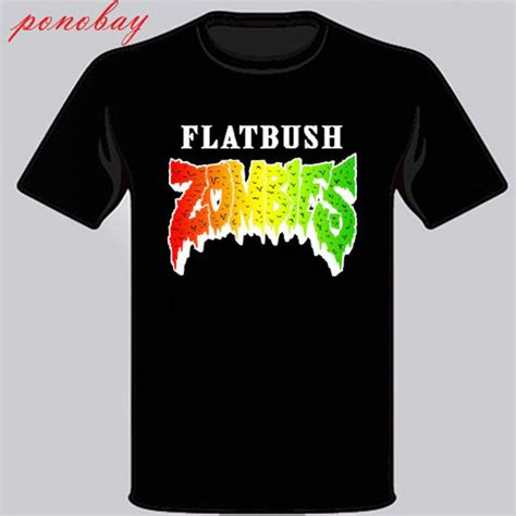 Zombies Flatbush Logo T Shirt new flatbush zombies logo rap hip hop s black t