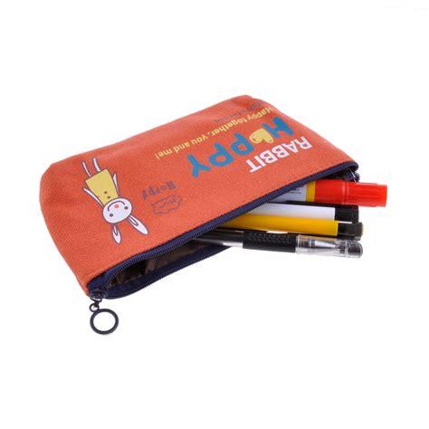 Animal Canvas Pencil durable animal canvas pen pencil bag storage
