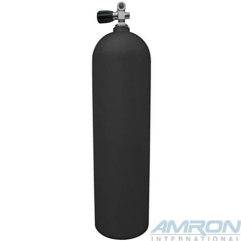 dive tanks aluminum dive tank a080 black with k valve 80 cu ft