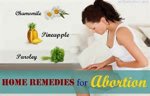 12 home remedies for abortion in early pregnancy