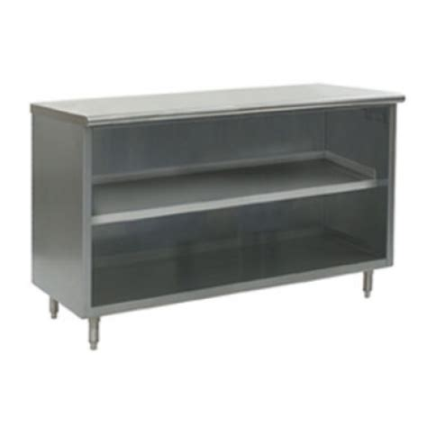 open front storage cabinets universal st 316 36 o 16 quot x 36 quot stainless steel storage