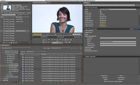adobe premiere pro mac adobe premiere pro cs4 for mac 4 1 screenshots