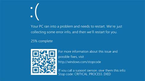 wallpaper blue screen windows microsoft adds qr codes to the windows 10 blue screen of
