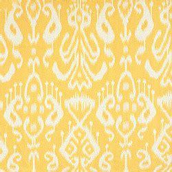 yellow ikat pattern bravado ikat woven yellow mediterranean fabric by